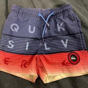 Size 4 - Boys quicksilver shorts